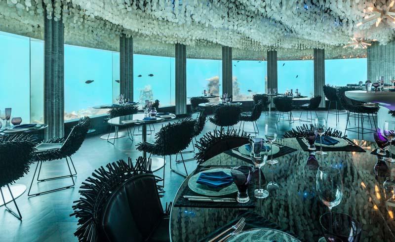 Subsix Restaurant im Niyama Private Islands