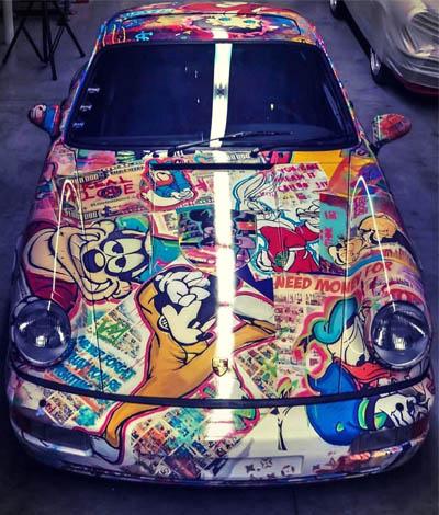 Porsche Klapschus