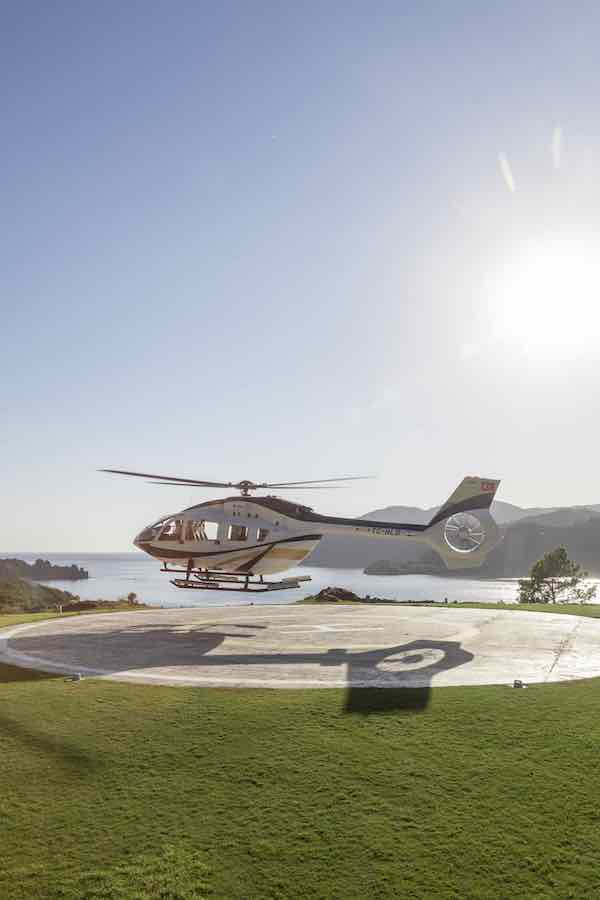 Helikopter D Maris Bay