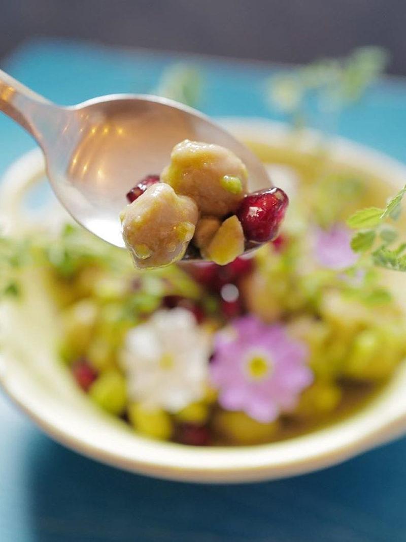 Kichererbsensalat - Rezept von Gaggan Anand