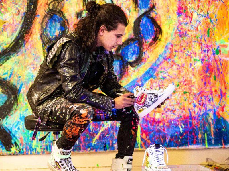 BLNKS Sneaker - Nico Nikolaidis