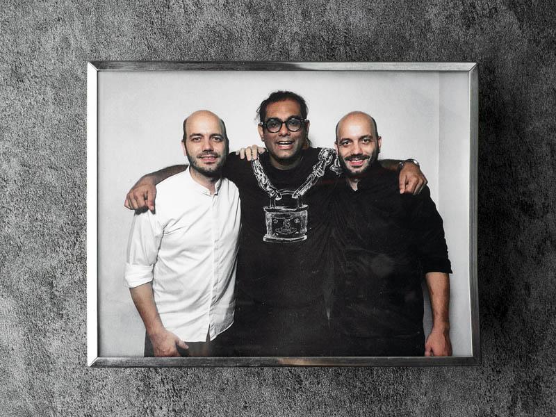 Die Sühring-Zwillinge und Gaggan Anand