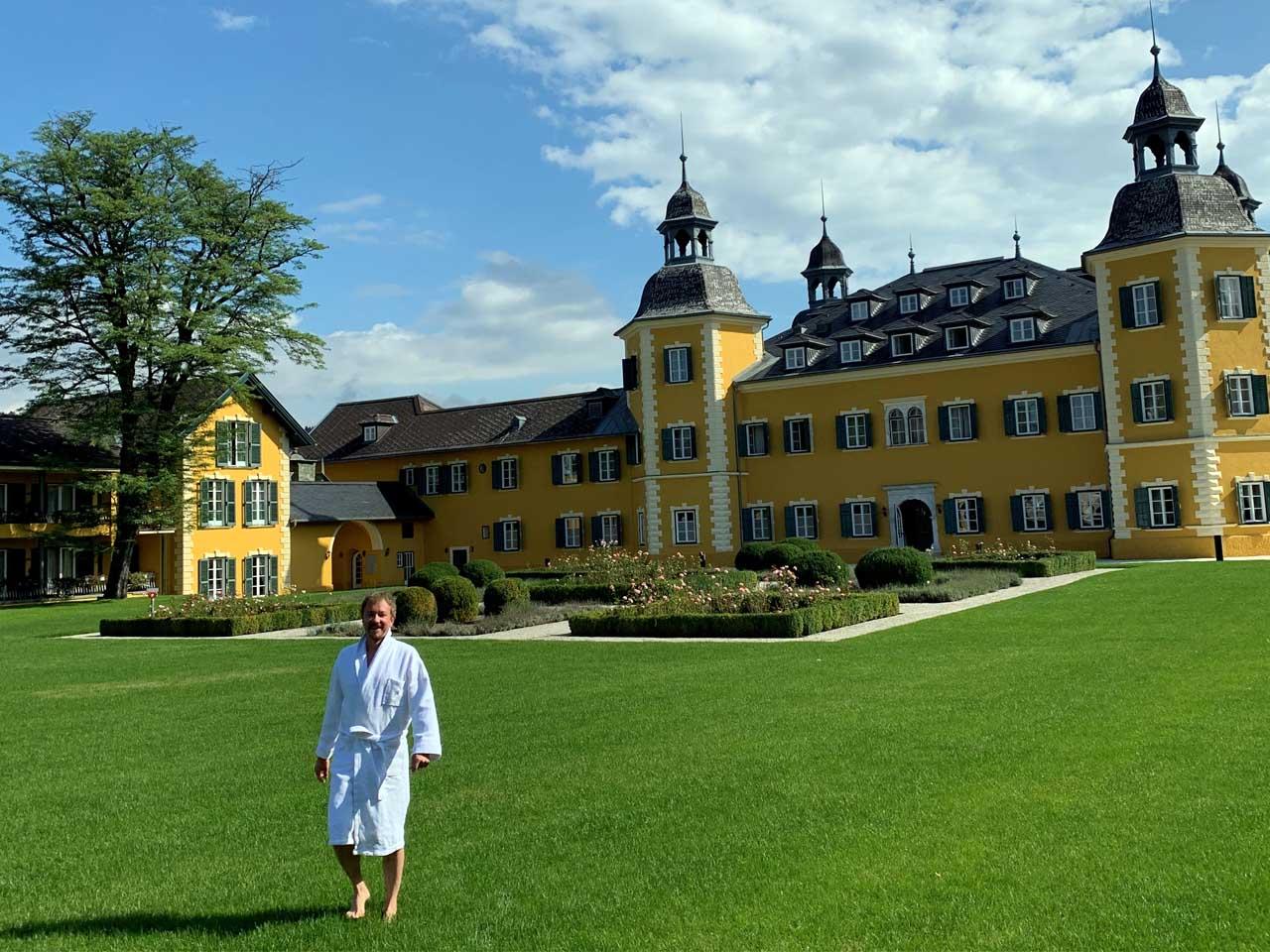 Derk Hoberg im Schloss am Wörthersee