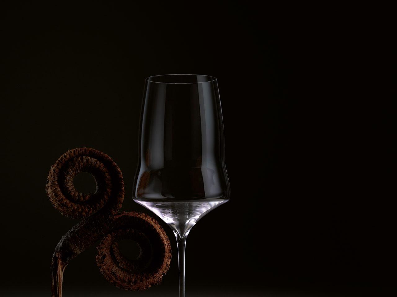 Josephinenhütte - Knick im Weinglas