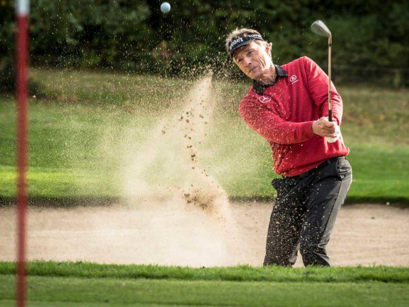 Golf-Tutorial mit Bernhard Langer
