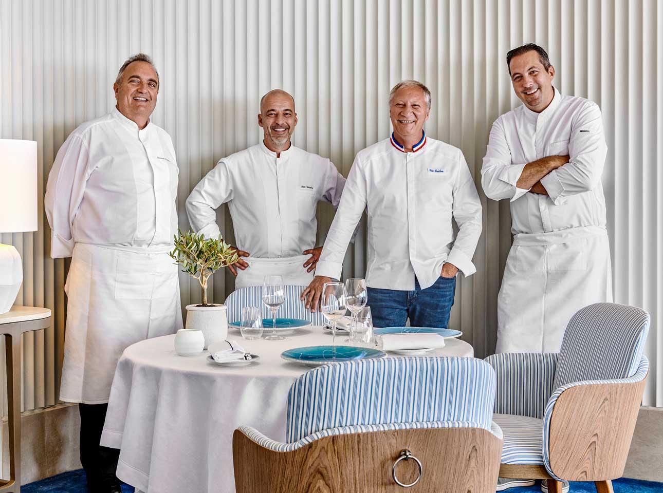 Team Restaurant Louroc - Hotel Cap-Eden-Roc