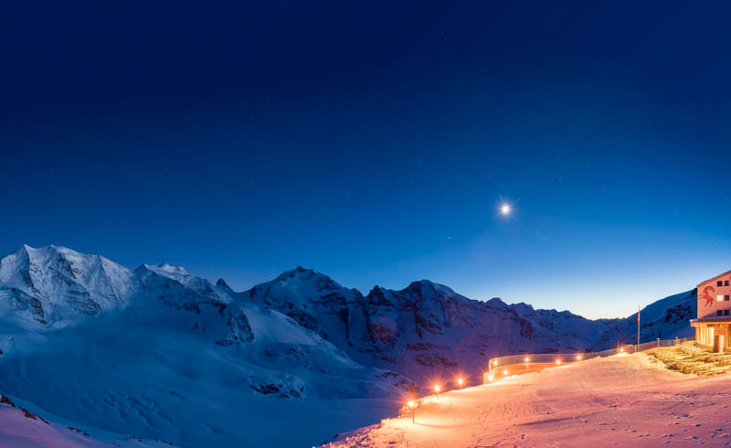 St.Moritz - Ski Alpin Diavolezza Berghaus