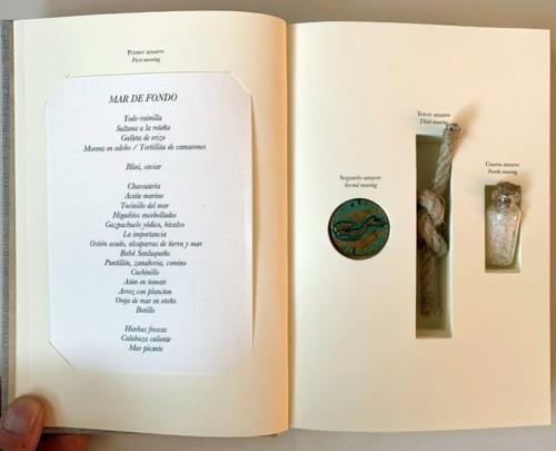 Aponiente - Das Logbuch inklusive Menü