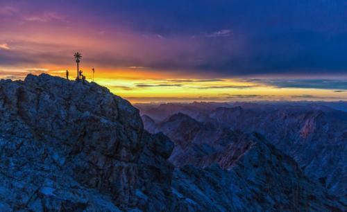 Zugspitze-Sonnenaufgang