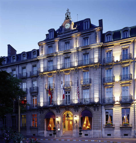 Grand Hotel La Cloche Dijon Außenansicht ©AccorHotels