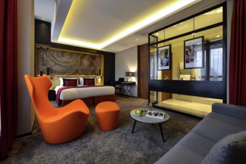 Grand Hotel La Cloche Zimmerbeispiel