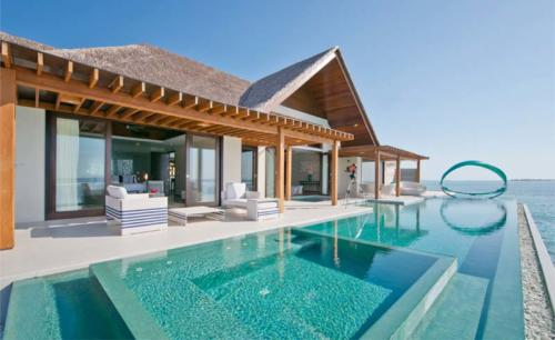Niyama Water villa